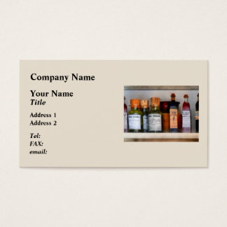 Pickles, Ketchup and Worcestershire Sauce Business Card
