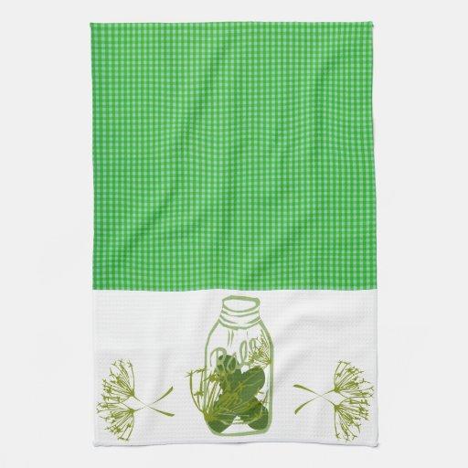 pickles kitchen designs hand towel zazzle