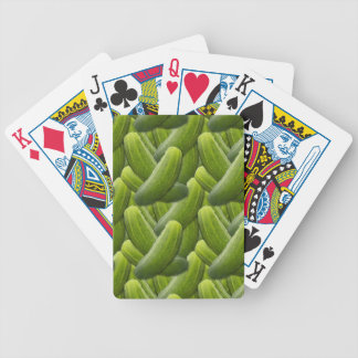Pickles; Pickle Bicycle Playing Cards