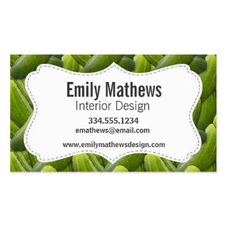 Pickles; Pickle Business Card Templates