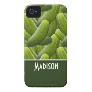 Pickles; Pickle Pattern iPhone 4 Case-Mate Case