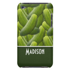 Pickles; Pickle Pattern iPod Touch Case at Zazzle