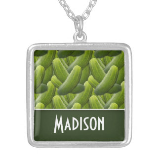 Pickles Pickle Pattern Necklace