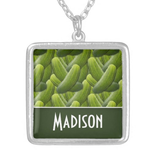 Pickles; Pickle Pattern Necklace