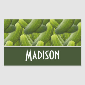 Pickles; Pickle Pattern Stickers