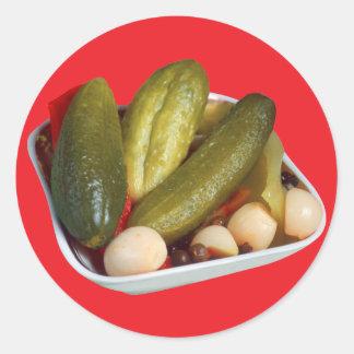 Pickles Round Sticker