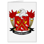 Pickman Family Crest Greeting Card