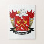 Pickman Family Crest Puzzle