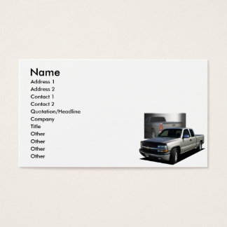 Pickup 2000 business card