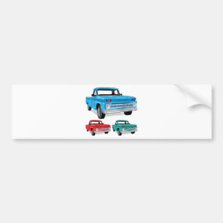 PickUp Farm Truck Bumper Sticker