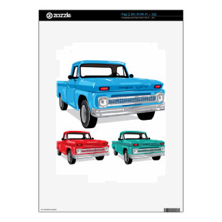 PickUp Farm Truck Decal For The iPad 2