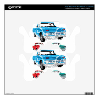 PickUp Farm Truck Skin For PS3 Controller