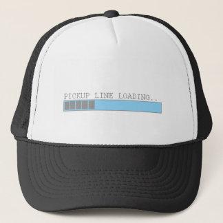 Pickup line loading funny mens girls flirt humor trucker hat