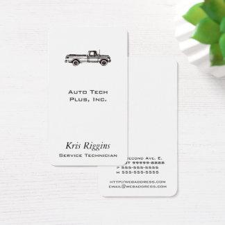 Pickup Truck / Auto Repair / Car Dealer Business Card