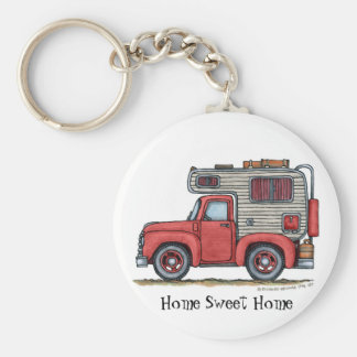 Pickup Truck Camper RV Key Chains HSH