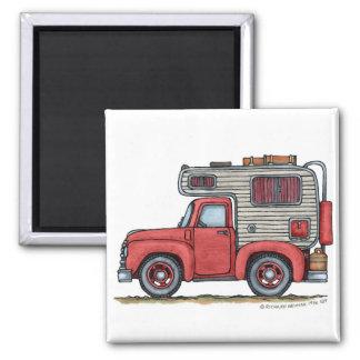Pickup Truck Camper RV Magnets