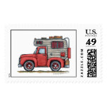 Pickup Truck Camper RV Stamps