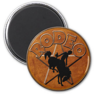 Pickup Truck Magnetic Concho 2 Inch Round Magnet