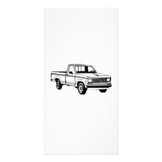 Pickup Truck Personalized Photo Card