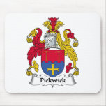Pickwick Family Crest Mouse Pad