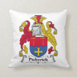 Pickwick Family Crest Pillows