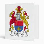 Pickwick Family Crest Vinyl Binder