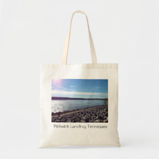 Pickwick Landing, Tennessee travel tote Budget Tote Bag