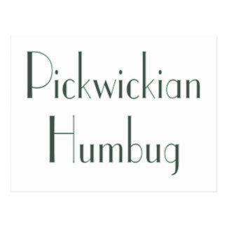 Pickwickian Humbug Postcard