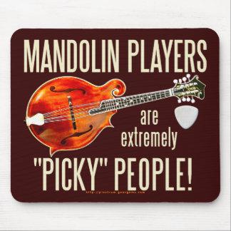 Picky Mandolinists Mouse Pad