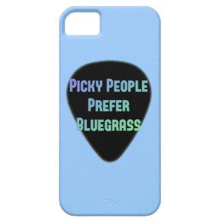 Picky People Prefer Bluegrass iPhone SE/5/5s Case