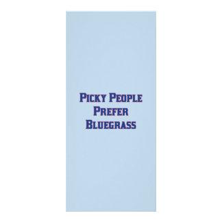 Picky People Prefer Bluegrass Rack Card