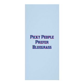 Picky People Prefer Bluegrass Custom Rack Card