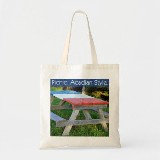 Picnic. Acadian Style. Tote Bag