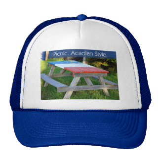 Picnic. Acadian Style. Trucker Hat