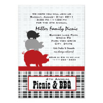 Picnic and BBQ Invitation