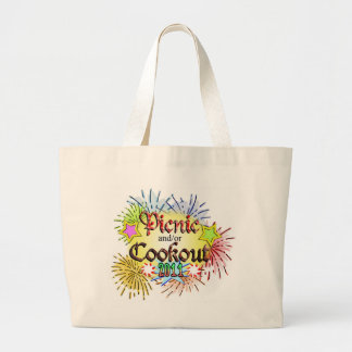 Picnic and/or Cookout 2011 Jumbo Tote Bag