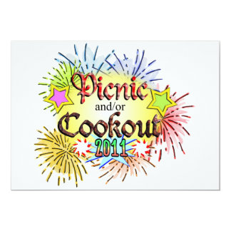 Picnic and/or Cookout 2011 Card