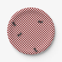 Picnic Ants Paper Plate