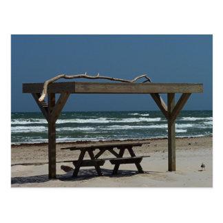 PIcnic at the Beach Postcard