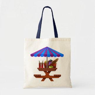 Picnic Budget Tote Bag
