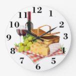 Picnic Basket Large Clock