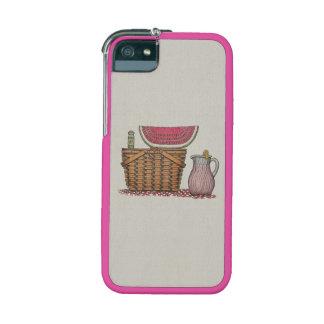 Picnic Basket & Watermelon iPhone 5 Case