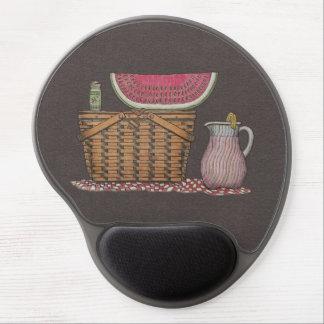 Picnic Basket & Watermelon Gel Mouse Mats