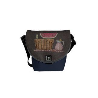 Picnic Basket & Watermelon Courier Bags