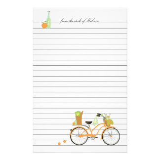 Picnic  Bicycle Stationery