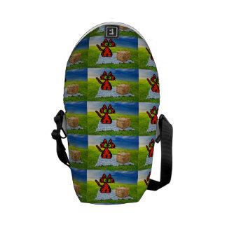 Picnic Cat Courier Bags