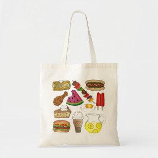 Picnic Food Tote Bag