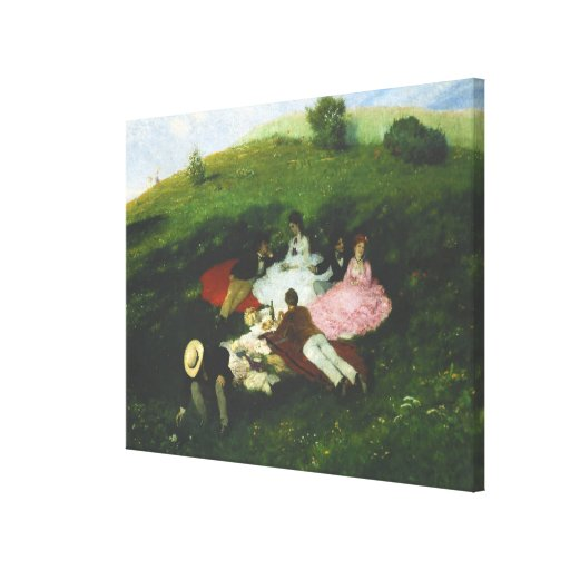 Picnic in May Canvas Print