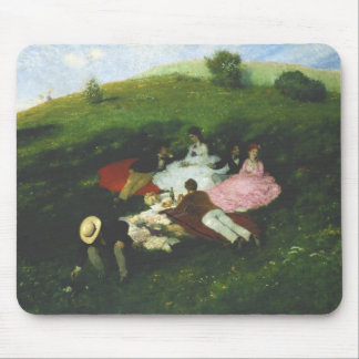 Picnic in May Mouse Pad
