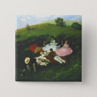 Picnic in May Pinback Button